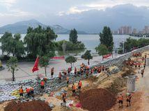 Čína / Záplavy /