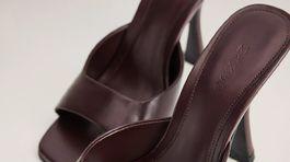 Nazúvacie sandáliky Mango, zlacnené na 29,99 eura.