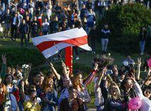 bielorusko protest
