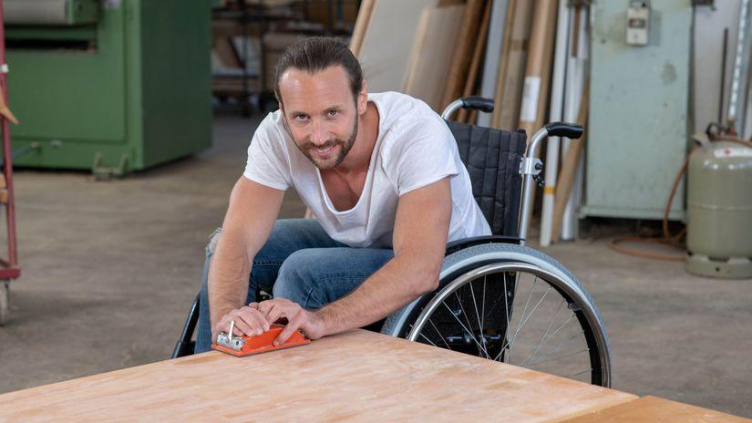 zťp, hendikep, práca, invalidný vozík, invalid
