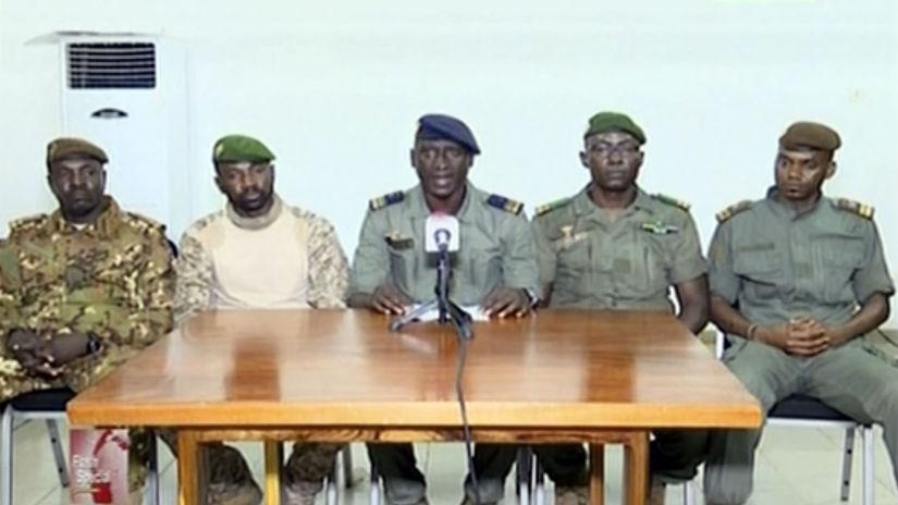 Mali vzbura vojaci prezident Keita rezignácia