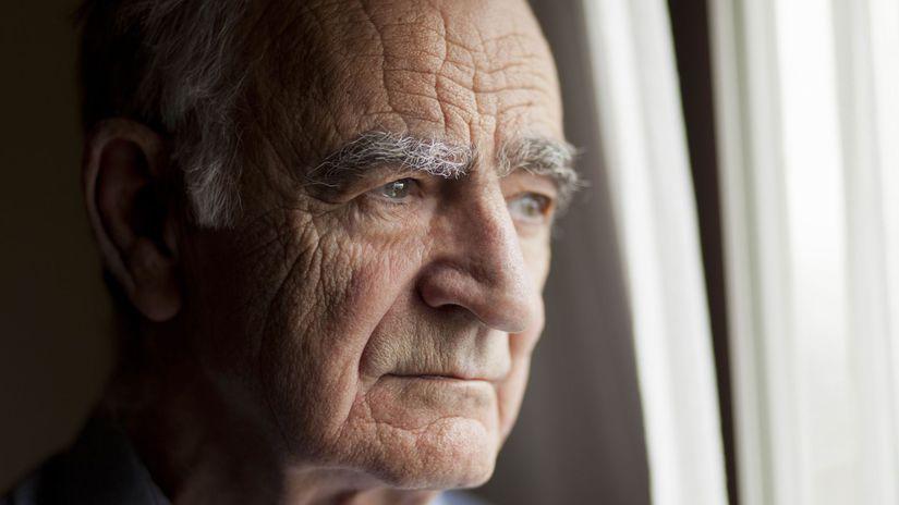 vdovec, smútok, trúchlenie, dôchodca