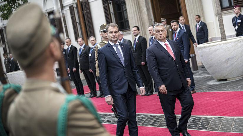 Maďarsko, Viktor Orbán, Igor Matovič