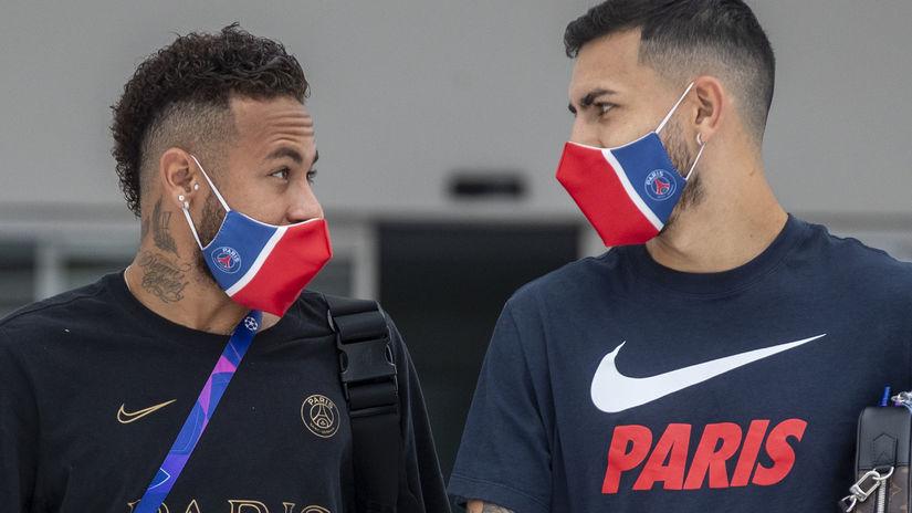 Neymar, Leandro Paredes
