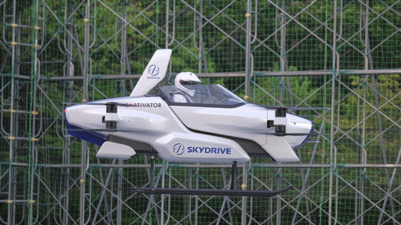 japan flying car...