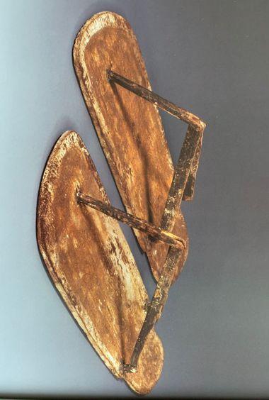 Model sandálov z hrobovej výbavy kňaza...