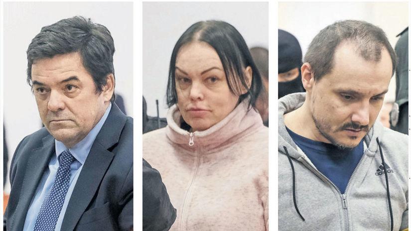 Marián Kočner, Alena Zsuzsová, Tomáš Szabó