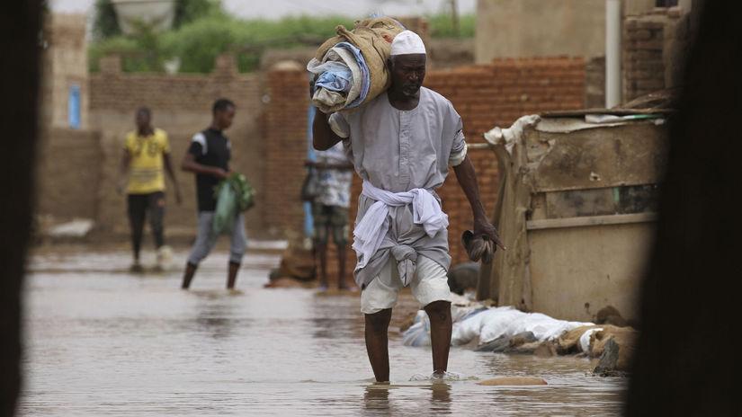 Sudán / Záplavy / Povodne /