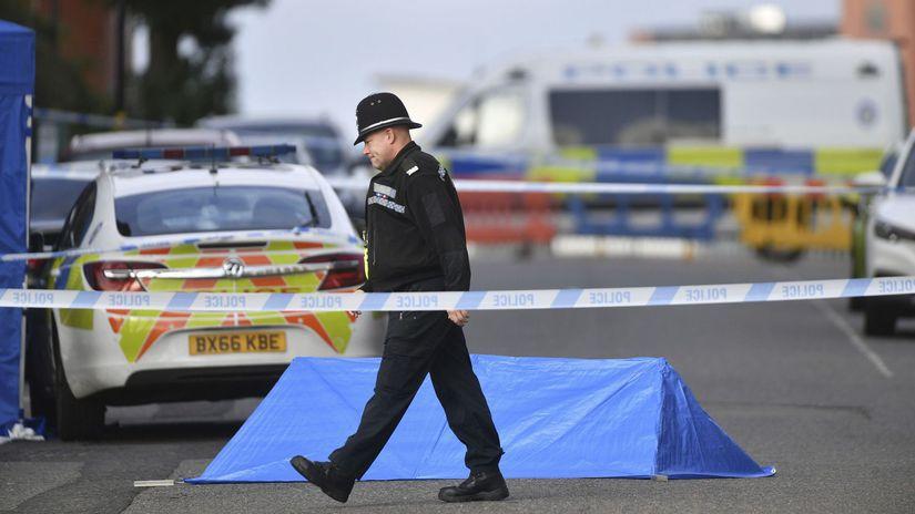 británia anglicko policia birmingham
