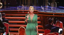 Marianna Ďurianová z RTVS si odnášala sošku OTO ako najlepšia moderátorka športu.