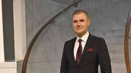 Moderátor televízneho spravodajstva Ľubomír Bajaník.