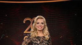 Moderátorka Zlatica Puškárová získala cenu týždenníka Plus 7 dní.