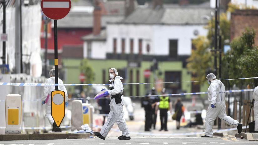 birmingham pobodanie útok forenzní experti