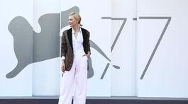 Herečka a prezidentka poroty Cate Blanchett na premiére filmu Khorshid (Sun Children).