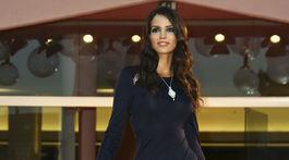 Modelka Sofia Resing prišla na premiéru filmu The World To Come.