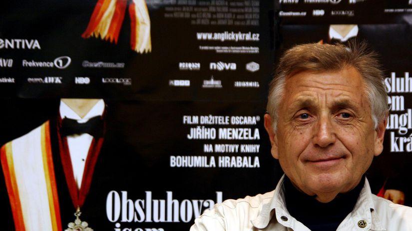 Režisér Jiří Menzel v roku 2007 na uvedení DVD...