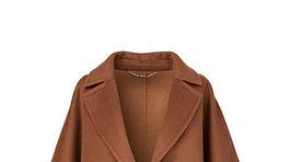 Dámsky vlnený plášť Marc Cain, predáva sa za 799 eur.