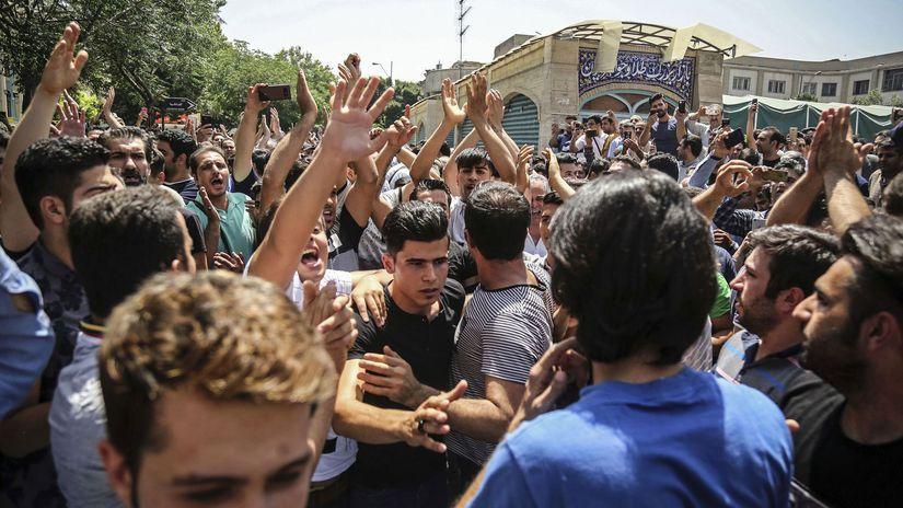 Teherán, protesty