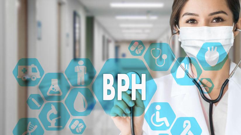 benígna prostatická hyperplázia, BPH, doktorka
