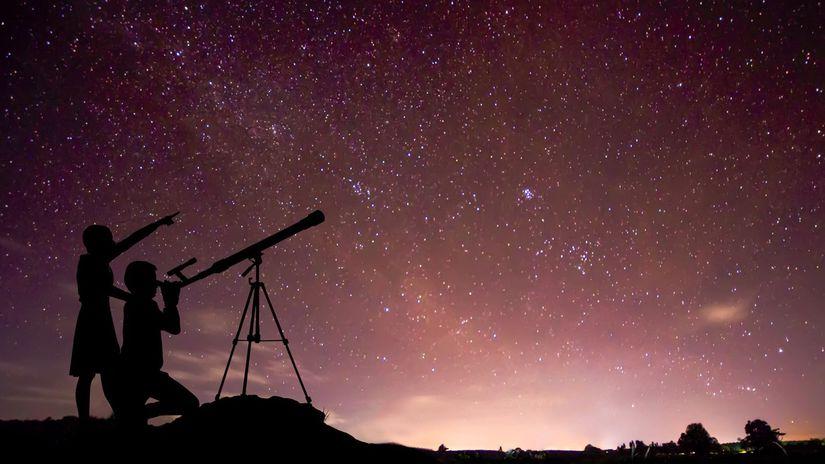 noc, hviezdy, obloha, astroturizmus,...