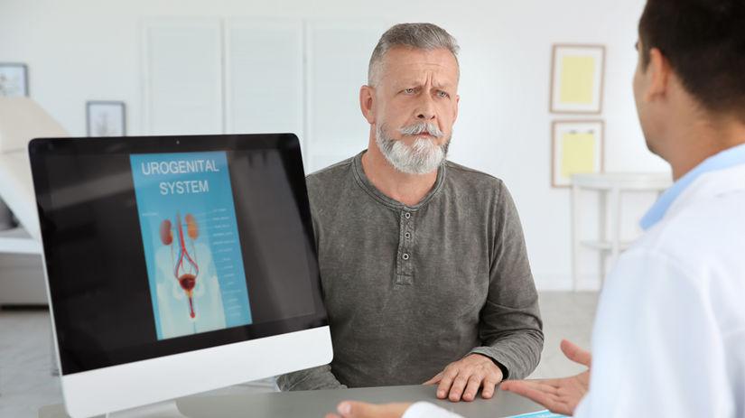 prostata, BPH, urológ, doktor, pacient