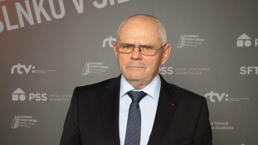 Herec Milan Kňažko prišiel odovzdať cenu...