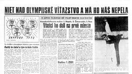 Pravda, športová strana, 12. február 1972