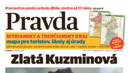 Pravda, titulná strana, titulka 10. február 2014