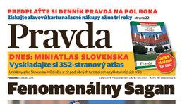 Pravda, titulná strana, titulka 17. október 2016