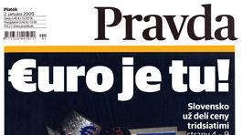 Pravda, titulná strana, titulka 2. január 2009