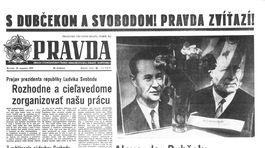 Pravda, titulná strana, titulka 29. august 1968