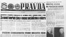 Pravda, titulná strana, titulka 29. január 1977