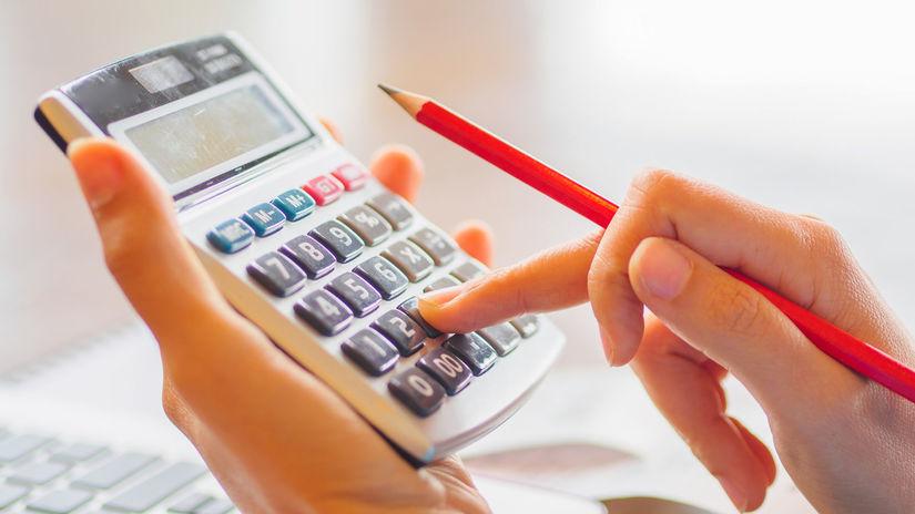kalkulačka, počítanie