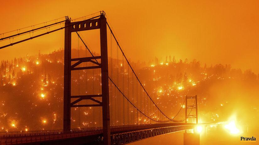 požiar, USA, Kalifornia