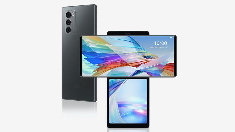 LG, Wing, smartfón, otočný displej