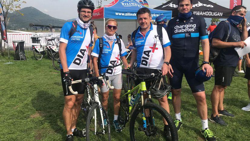 Emil Martinka, cyklistika, diabetes, Diapozitívci
