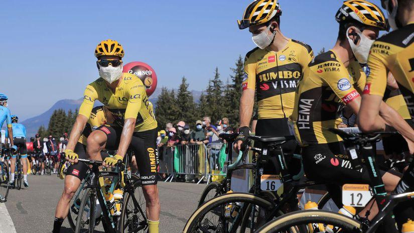 jumbo cyklistika Tour de France