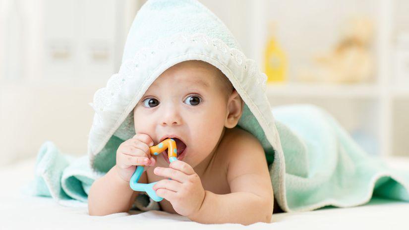 dieťa, bábätko, hryzadlo, zúbky