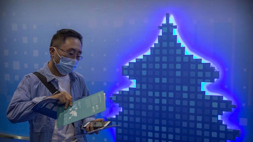 koronavírus, Čína, technológie