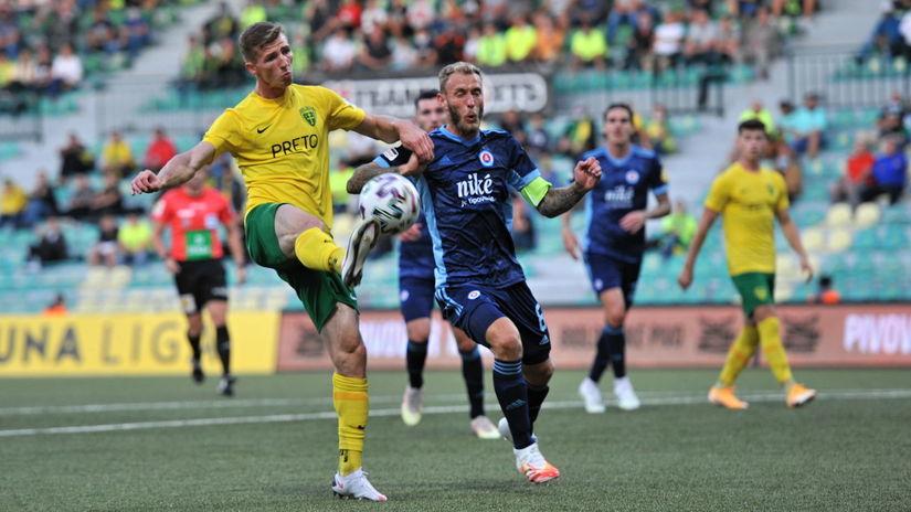 SR Žilina šport futbal FL 7. kolo Slovan ZAX