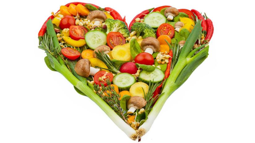 zdravá strava, srdce