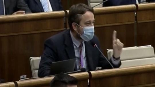 Ľuboš Blaha, parlament