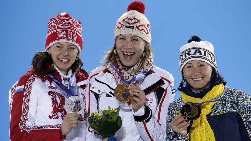 Oľga Viluchinová, Anastasia Kuzminová, Vita...