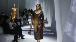 Italy Fashion S/S 2021 Fendi, Yasmin Le Bon