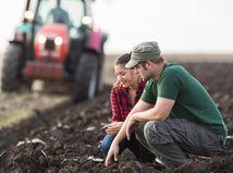 pôda, pozemok, pole, traktor, pár