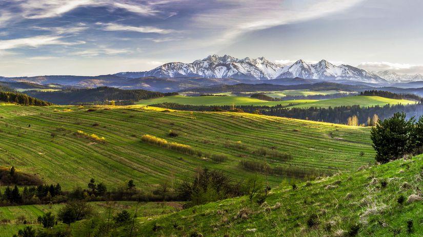 príroda, polia, hory, pôda, pozemky