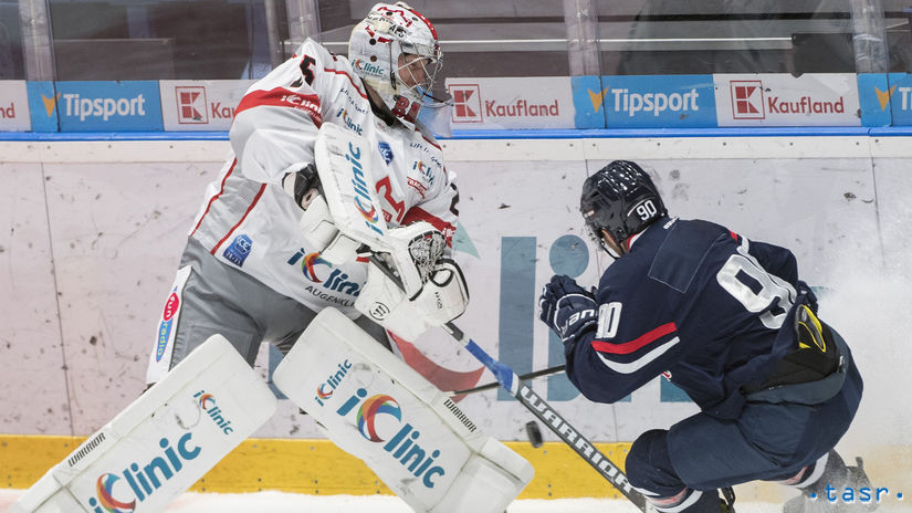 SR Bratislava šport hokej Slovan Capitals...