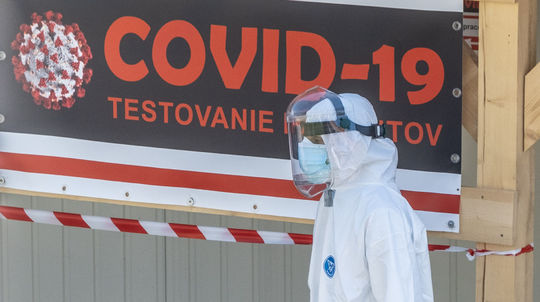 test, koronavírus