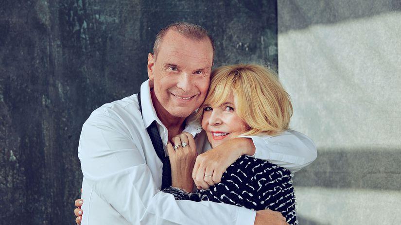 Speváčka Hana Zagorová a jej manžel Štefan...