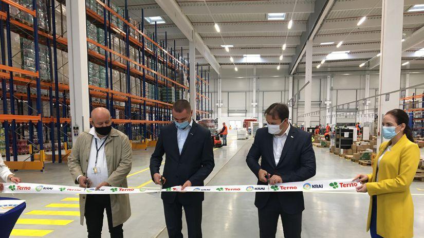 Terno - otvorenie logistického centra
